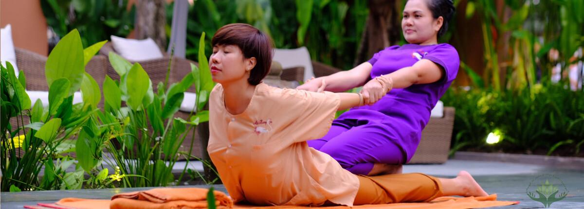 آموزش ماساژ تایلندی